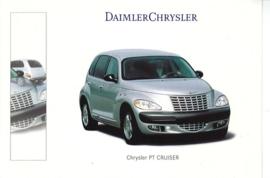 Chrysler PT Cruiser, A6-size postcard, NAIAS 2000, English