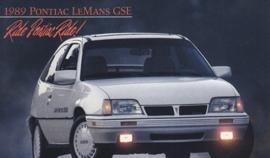 LeMans GSE, 1989, standard-size, USA