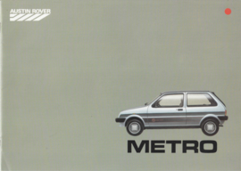 Mini Metro, 16 pages, A4-size, about 1984, Dutch language, # EO172