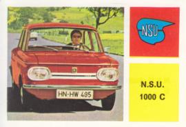 NSU 1000 C, 4 languages, # 130