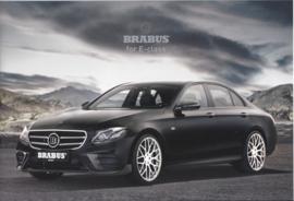 E-Class Sedan Brabus brochure, 12 pages, 02/2017, German/English language