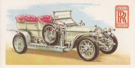 Rolls Royce Silver Ghost 1907, English language, # 10 of 50, Brooke Bond Tea