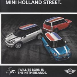 Program Holland Street brochure, 6 pages, Dutch language, 2013