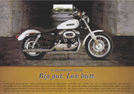 Harley-Davidson XL 1200L Sportster 1200 Low leaflet, 2 pages, 2006, English language