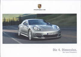 Panamera intro brochure, 50 pages, 01/2009, hard covers, German