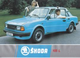 105 L Sedan leaflet, 2 pages, German language, about 1985