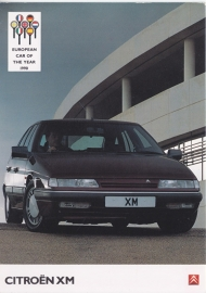 XM Sedan, A6-size postcard, UK issue, about 1990