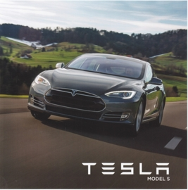 Model S brochure, 8 pages, 20,5 x 20,5 cm, Dutch language (Belgium)