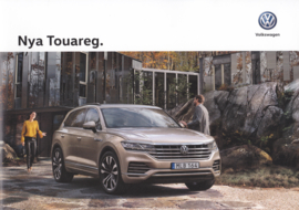 Touareg brochure, A4-size, 24 pages, 06/2018, Swedish language