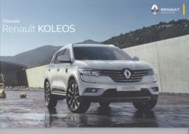 Koleos brochure, 56 pages, 05/2017, Dutch language