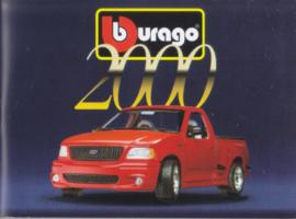 Burago brochure, 116 small pages, 1/2000, English language