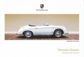 Classic, 356 Speedster, factory issue, A6-size postcard, 2016, English