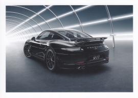 911 Carrera S tequipment postcard, DIN A6 size, factory-issue, WAS7 1401 0003 35, French