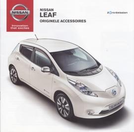 Leaf accessories brochure, 12 pages, 05/2013, Dutch language
