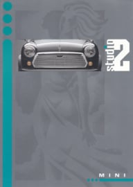 Mini 1000 Studio 2 brochure, 6 pages, Dutch language, # E0818