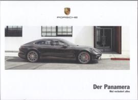 Panamera models brochure, 174 pages, 03/2017, hard covers, German