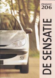 206 brochure, 40 pages, A4-size, 09/1998, Dutch language