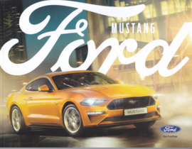 Mustang brochure, 64 pages, 11/2017, Dutch language
