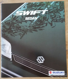 Swift Sedan brochure, 16 large pages,  about 1995, Dutch language