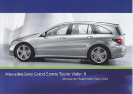 Mercedes-Benz Grand Sports Tourer Vision R, A6-size postcard, Paris 2004