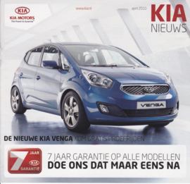 News (program) brochure, 20 pages, 04/2010, Dutch language