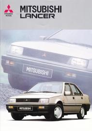 Lancer brochure, 16 pages, 08/1986, Dutch language
