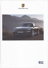 911 Carrera brochure, 182 pages, 04/2007, hard covers, German
