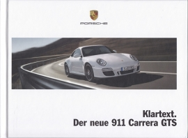 911 Carrera GTS brochure, 64 pages, 06/2010, hard covers, German