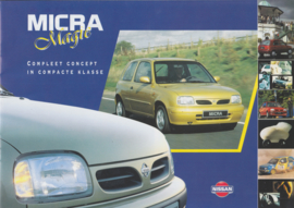 Micra brochure, 16 pages, 2/1996, Dutch language