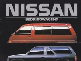 Commercials program brochure, 16 pages, 1988, Dutch language