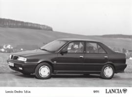 Lancia Dedra 1.6 i.e. - factory photo - 09/1991
