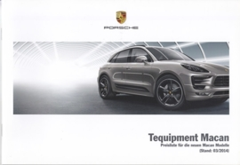 Macan Tequipment pricelist, 36 pages, 03/2014, German