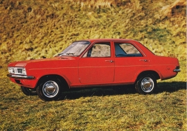 Viva 4-Door Sedan, A6-size postcard, 1970, Dutch language