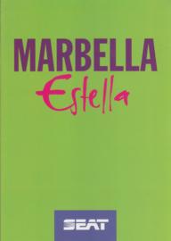 Marbella Estella brochure, 6 pages, 2/1994, A4-size, German language