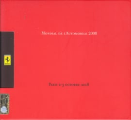 Press Package Paris 2008, pictures on CD-Rom, comes in protective cover