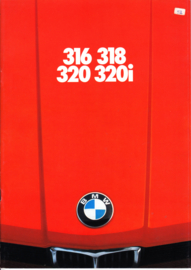 316/318/320/320i brochure, 32 pages, A4-size, 2/1976, Dutch language