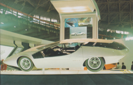 Toyota EX III collectors card, Japanese text, number 54, 1977