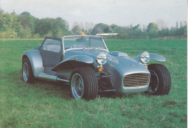Donkervoort Super Eight 2.0, advertising postcard, Dutch, about 1985