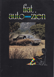 Program all model brochure, 8 pages, A4-size, Dutch language, 02/1977