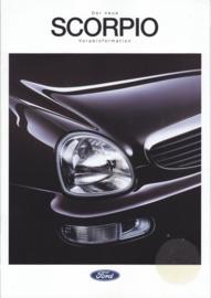 Scorpio brochure, 16 pages, size A4, 09/1994, German language