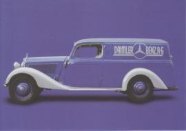 Mercedes-Benz 170 V Van 1947, Classic Car(d) of the month 5/2002, Germany