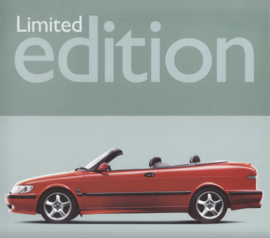 9-3 Cabriolet Limited edition leaflet, 2 pages, 2000, Dutch language, # 630947