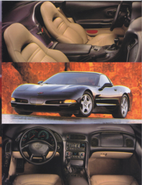 Corvette  brochure, 6 pages, 1998, USA