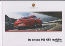 911 GTS brochure, 120 pages, 01/2017, hard covers, Dutch
