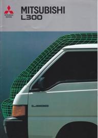 L300 Van brochure, 12 pages, 12/1986, Dutch language