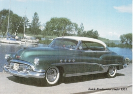 Buick Roadmaster Coupe 1951 - nr. 13180
