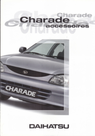 Charade accessories brochure, 6 pages, about 1997, A4-size, Dutch language