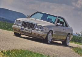Coupe, A6-size postcard, Mercedes-Fan World # 06/2012, German