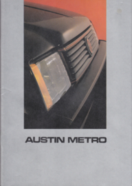 Metro, 32 pages, A4-size, about 1983, Dutch language, # EO135/32