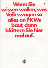 Program brochure, 8 pages,  A4-size, German language, 08/1979
